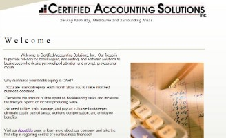 Certified Accounting Solutions Inc.