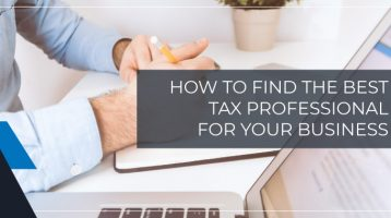 Tax Professionals: Who to hire