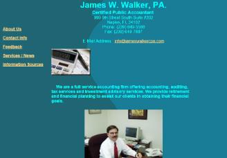 James W. Walker, PA.
