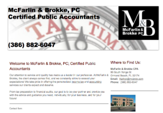 McFarlin & Brokke, PC