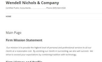Wendell Nichols & Company